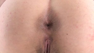 Tittyfucking pornstar pop-shots on cock