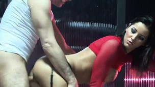 Scorching foursome session with two luscious bombshells