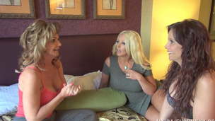 Three stellar milfs are having the time of their lives