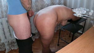 Naked mom always agrees to ass fucking sex