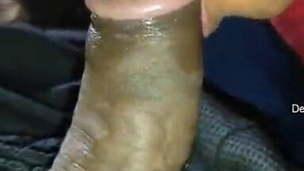 Fresh cute Tamil gf sucking cock