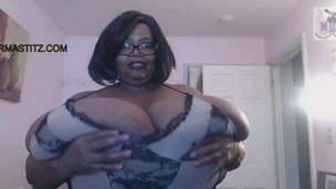 Fattest Boobs &ndash,  Seized Woman on Web cam