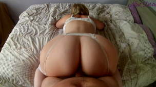 Mummy with a big white booty loves to fuck!