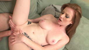 Is this White Cock simply TOO BIG for Nikki Rhoades?