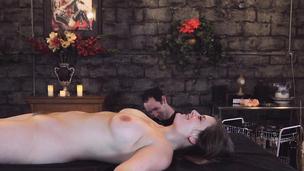 Roped pornstar stunner played