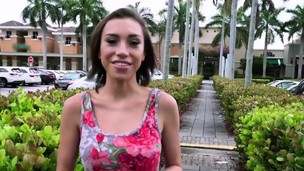 Teen Amber is having sex and being paid