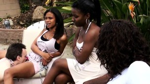 Ebony Babes Receive Oral